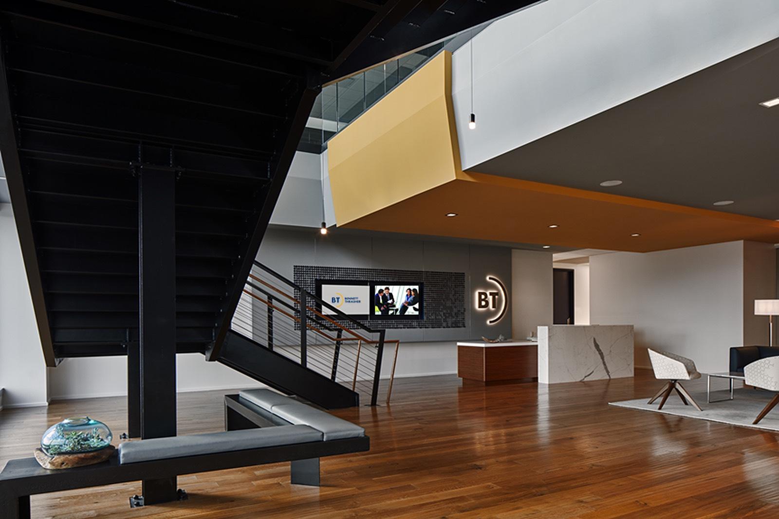 A Tour Of Bennett Thrasher S New Atlanta Headquarters Officelovin