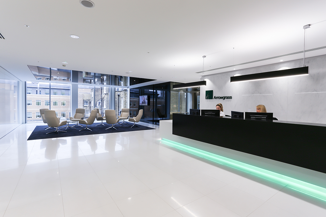 A Look Inside Arrowgrass' Modern London Office