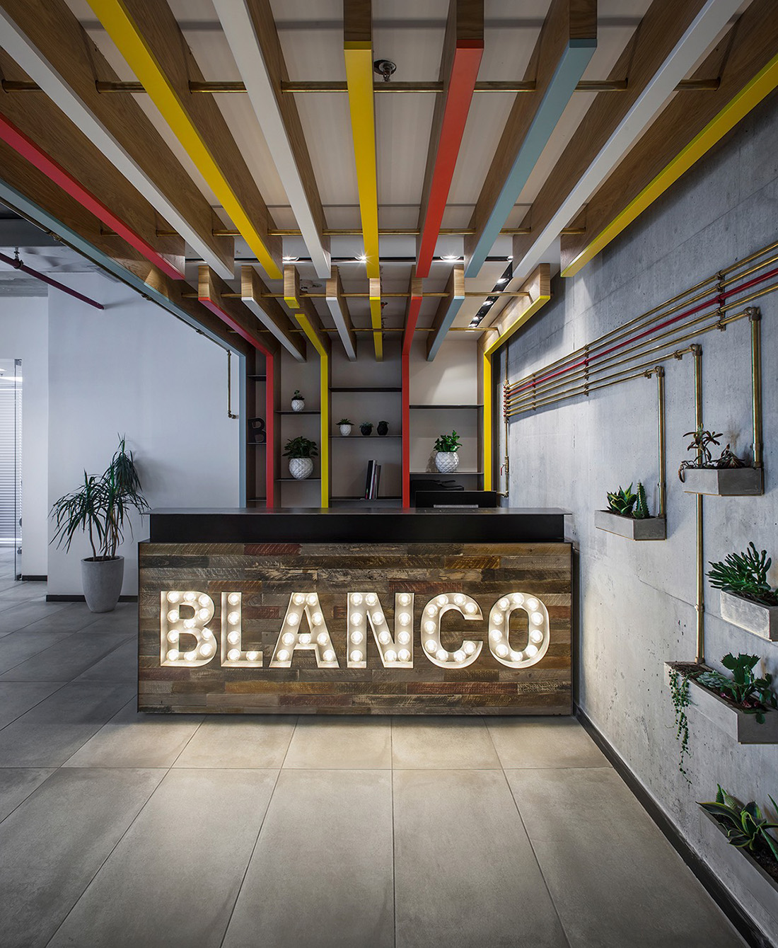 Inside Blanco's Sleek Tel Aviv Office