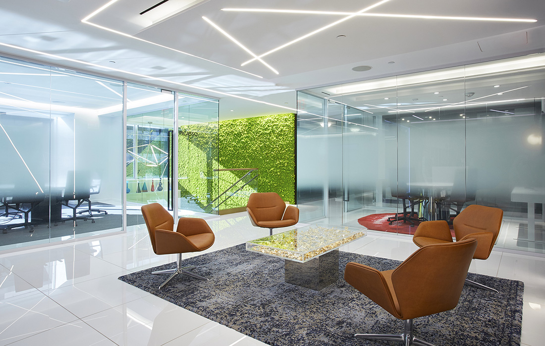 Inside Emerge212's Sleek NYC Office