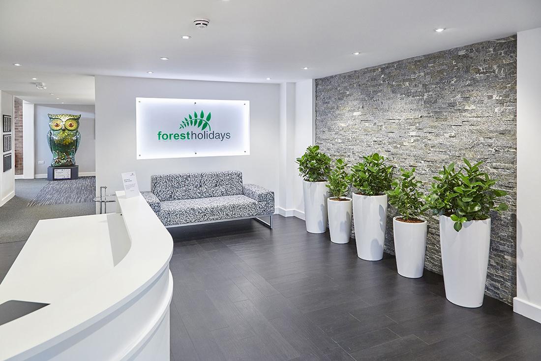 A Peek Inside Forest Holidays' New Moira Office