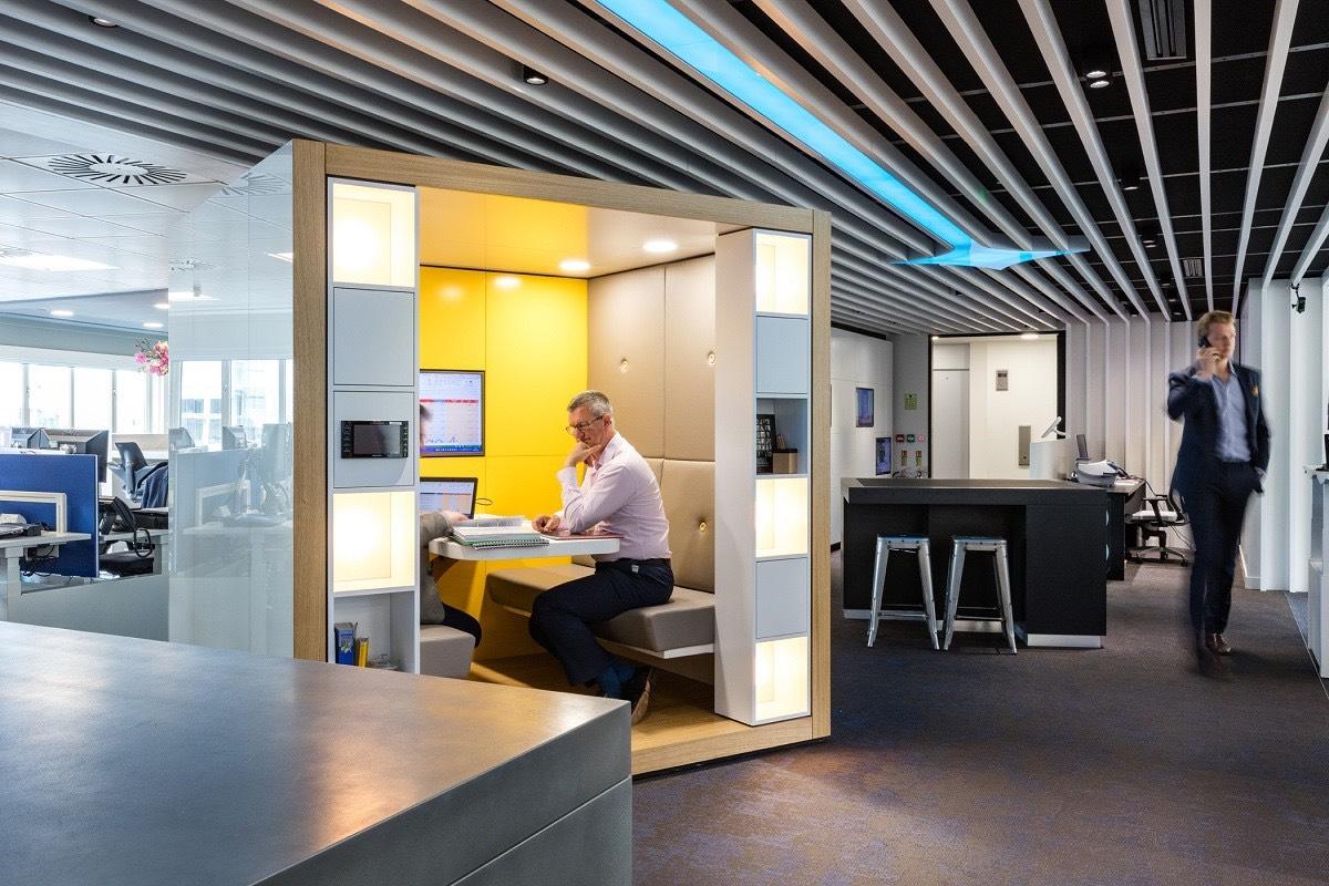 Inside Fourfront Group S Sleek London Office Officelovin