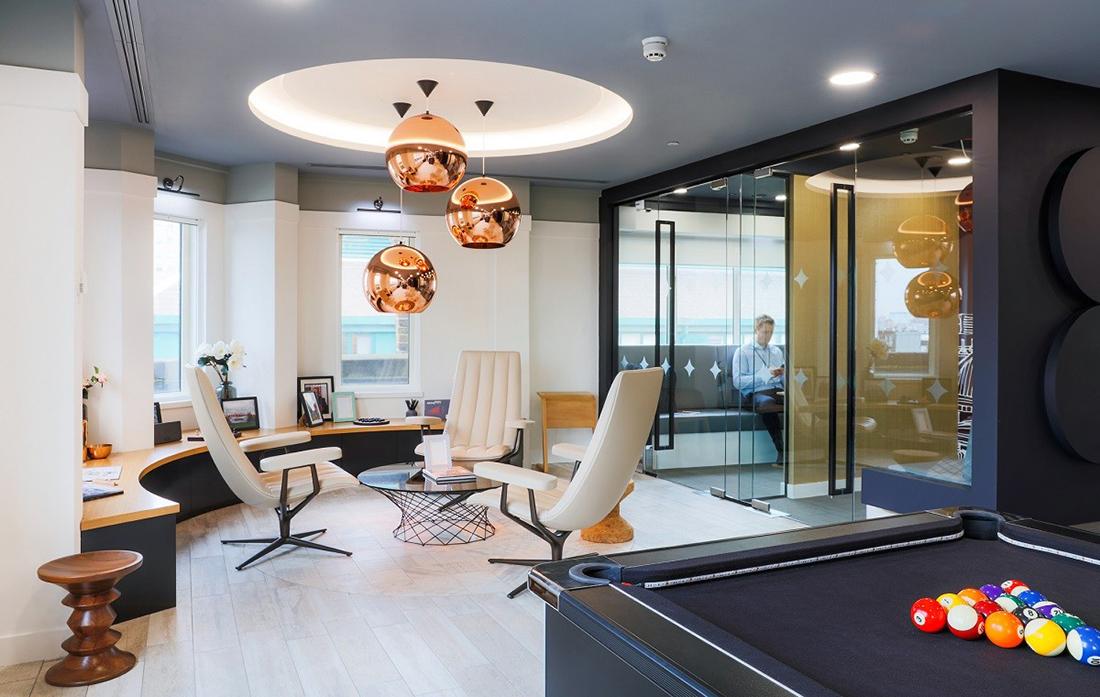 Inside Fourfront Group's Sleek London Office