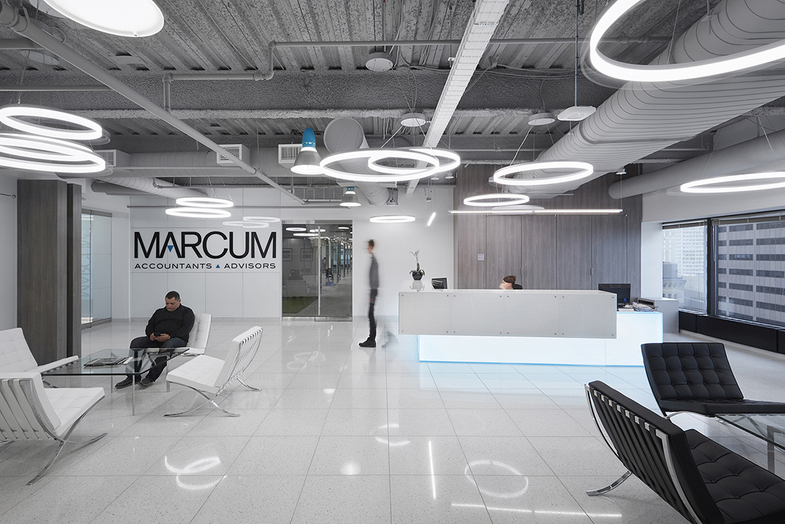 Inside Marcum LLP's Sleek New Boston Office