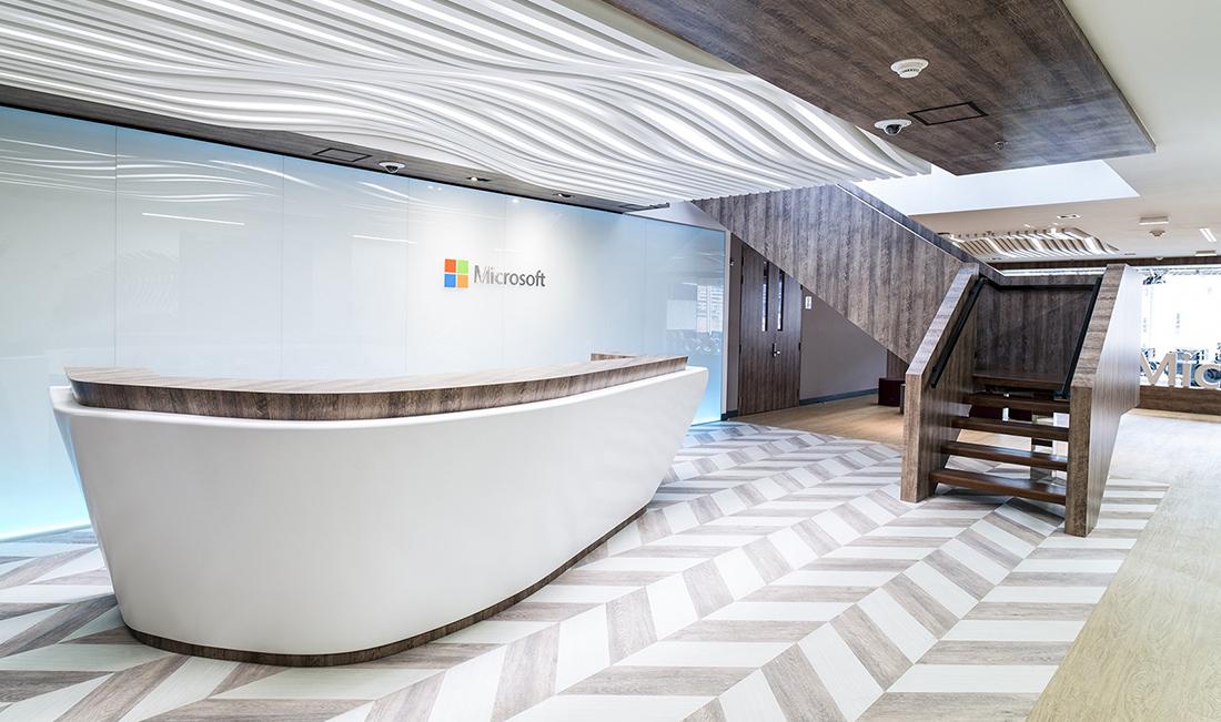 a tour of microsoft s modern bogota office officelovin