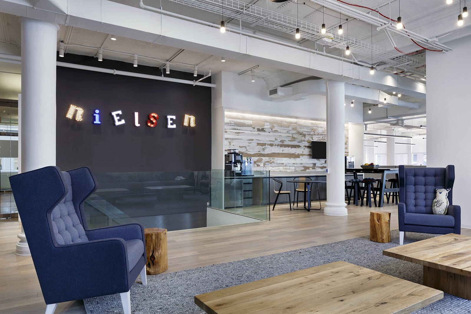 Inside Nielsen S Cool New Nyc Technology Hub Officelovin