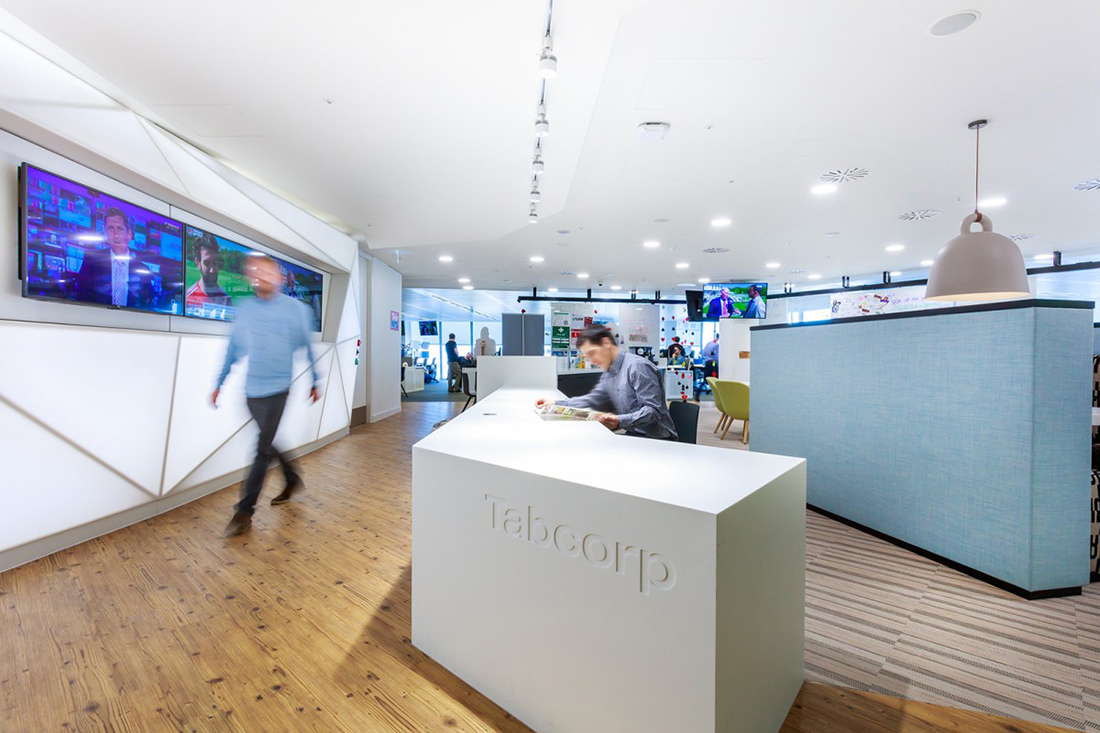 A Look Inside Tabcorp's New London Office