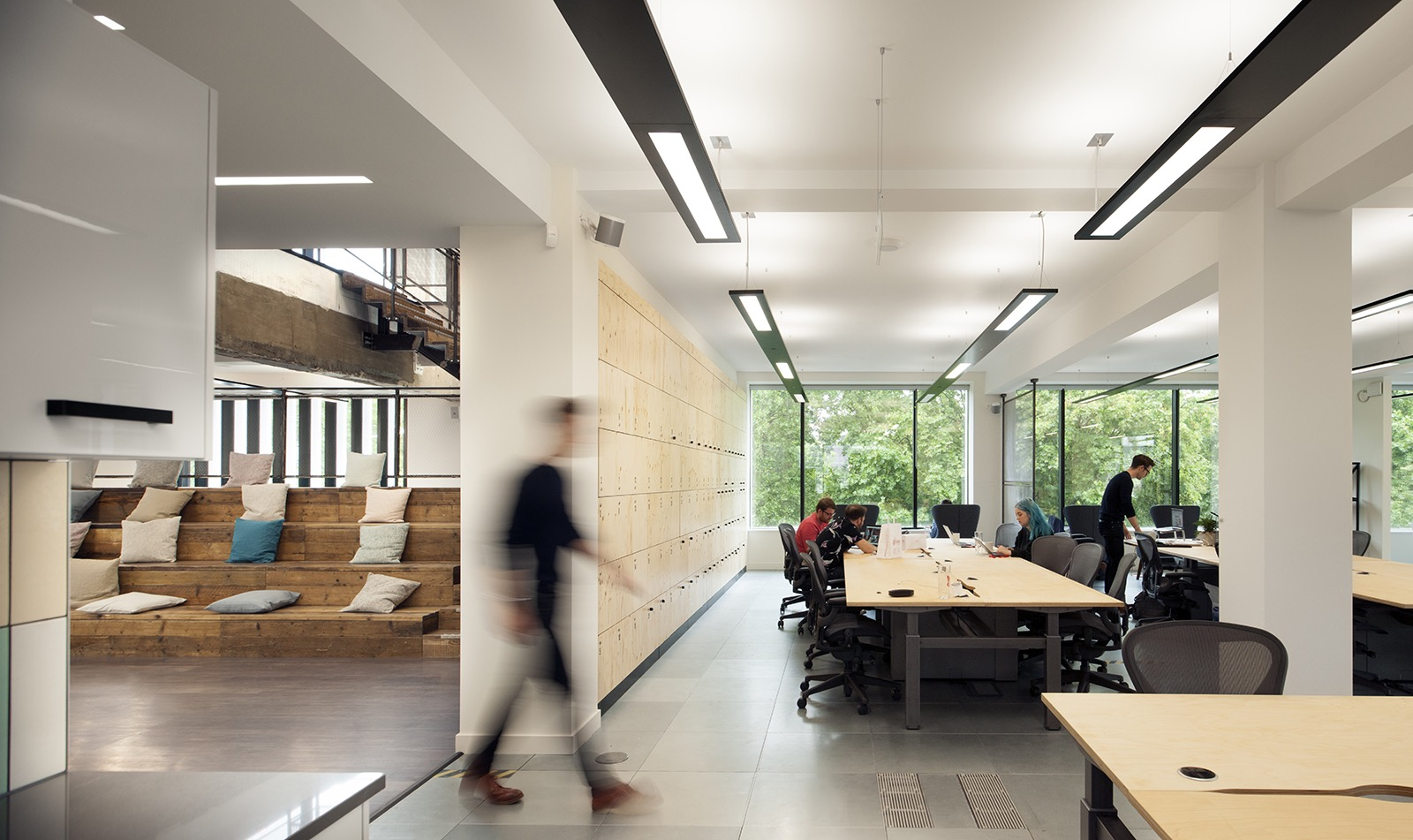 A Tour Of Anomaly S Sleek New London Office Officelovin