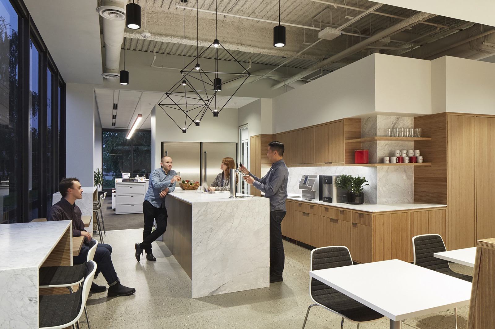 A Tour Of Cushman Amp Wakefield S Brand New Portland Office