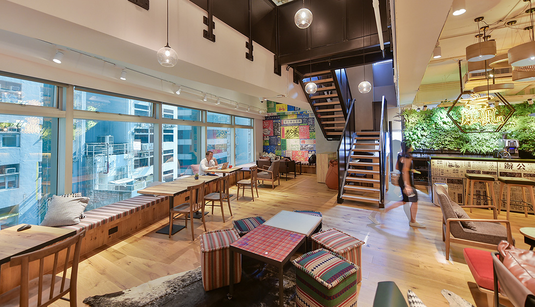 A Tour of naked Hub's Cool Hong Kong Coworking Space