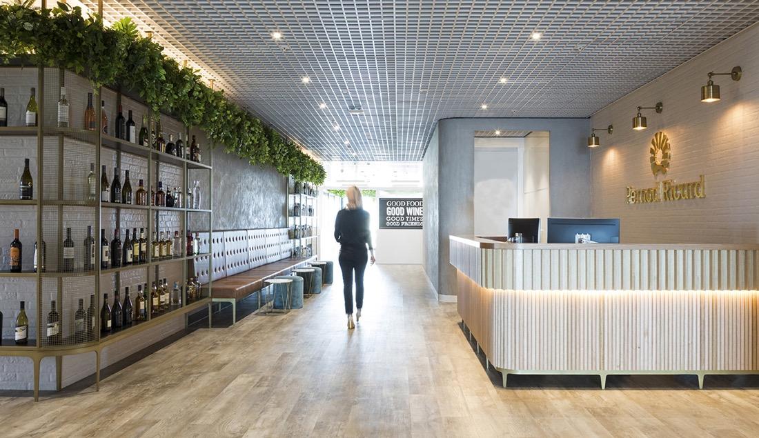 Inside Pernod Ricard's Elegant New Sydney Office