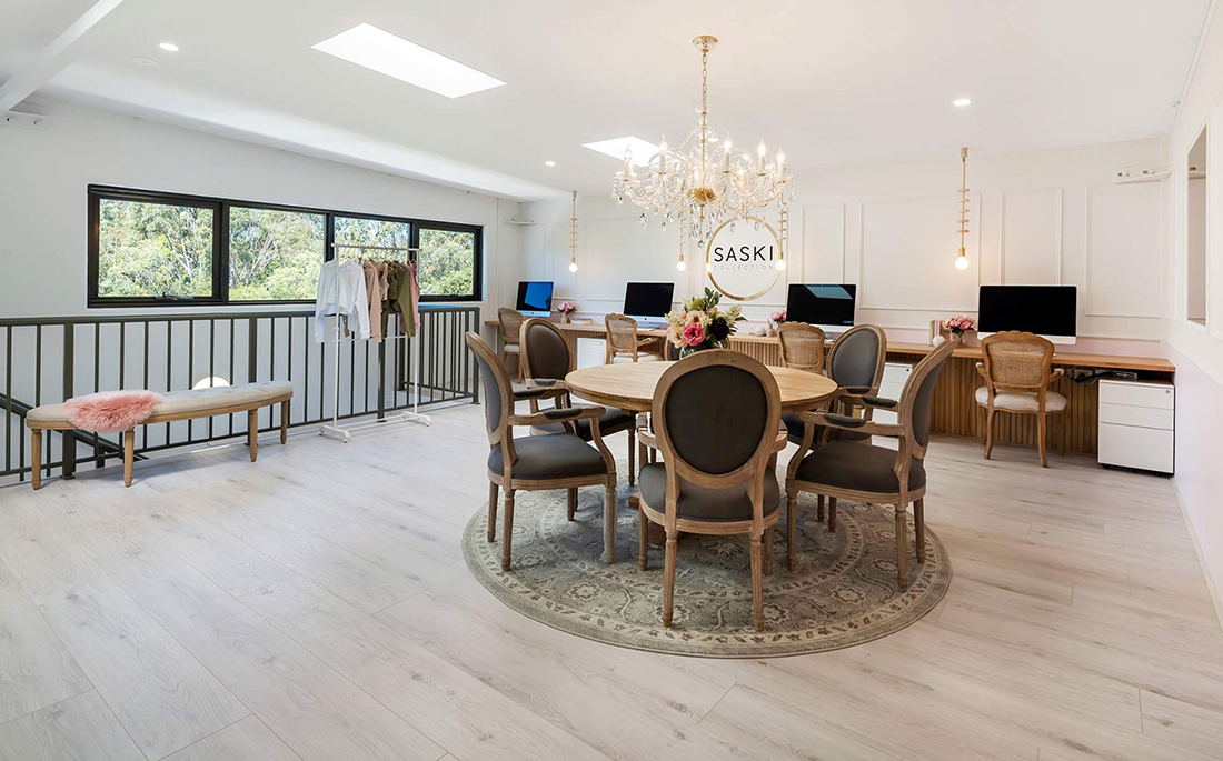 Inside Saski Collection's Cool New Gold Coast Office