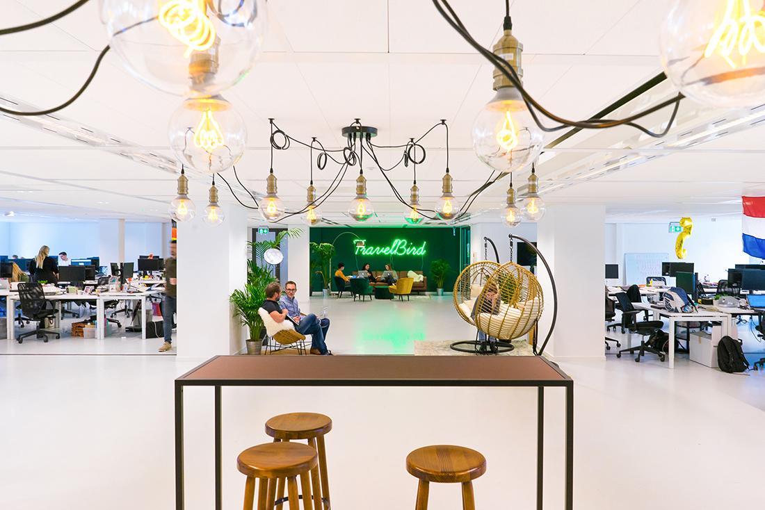 Inside TravelBird's Hip Amsterdam Office