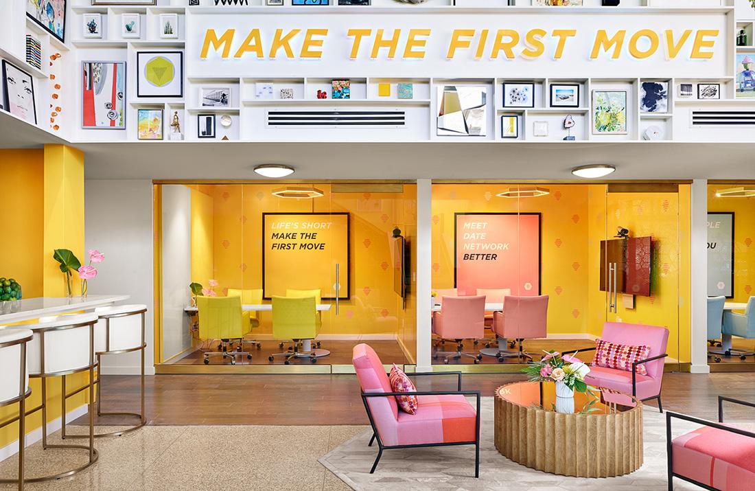 Inside Bumble's Cool New Austin Headquarters