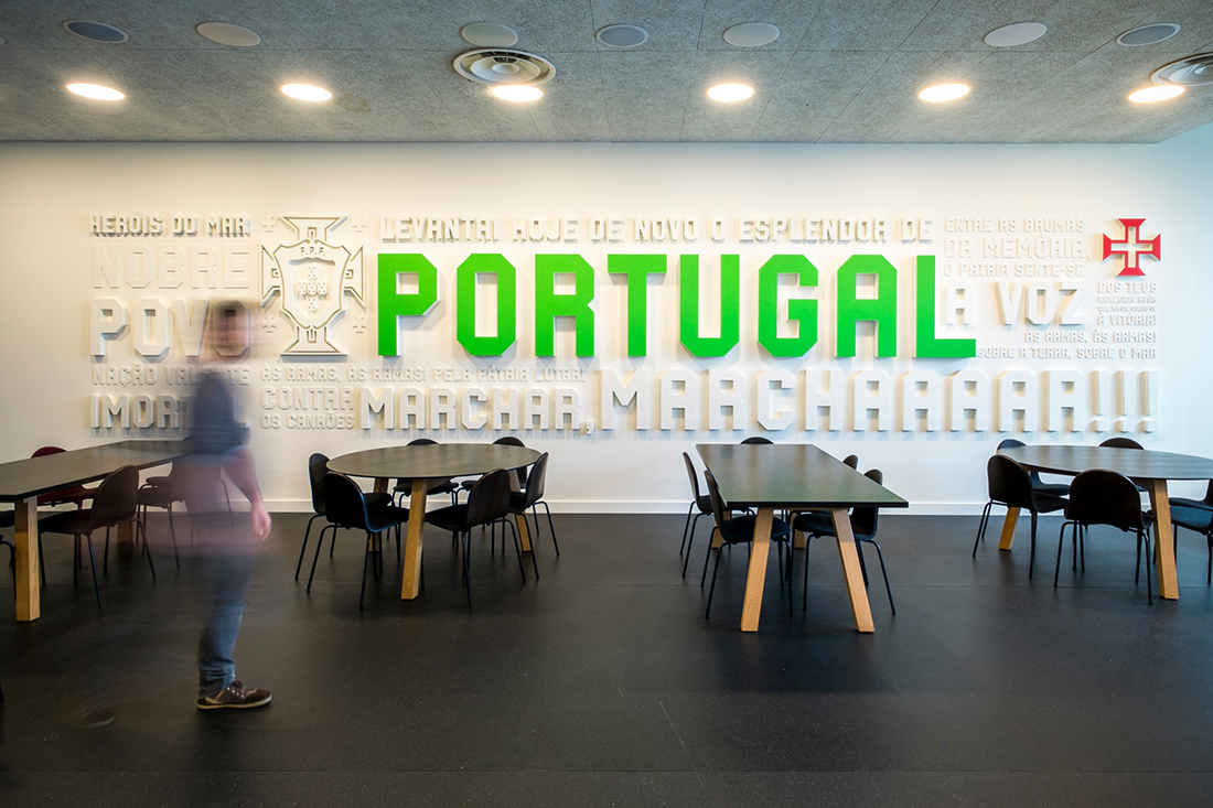 Inside Portuguese Football Federation's Sleek Lisbon Headquarters
