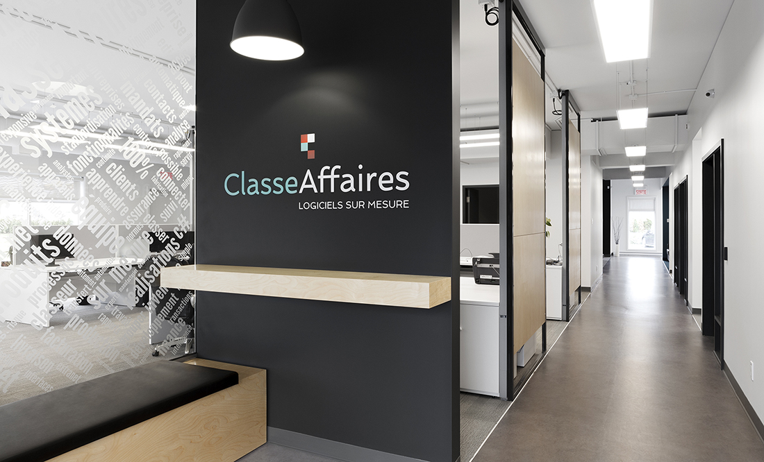 Inside Classe Affaires' Saint-Augustin-de-Desmaures Office