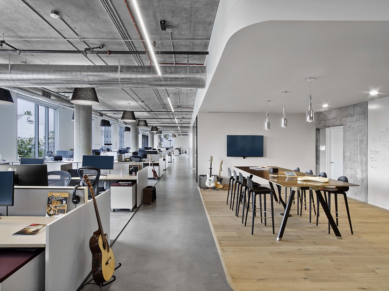 A Tour Of Fender S Sleek New Los Angeles Office Officelovin