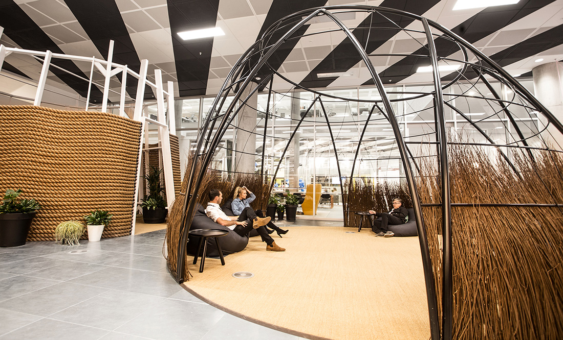 A Tour of Huckletree West's Coworking Space