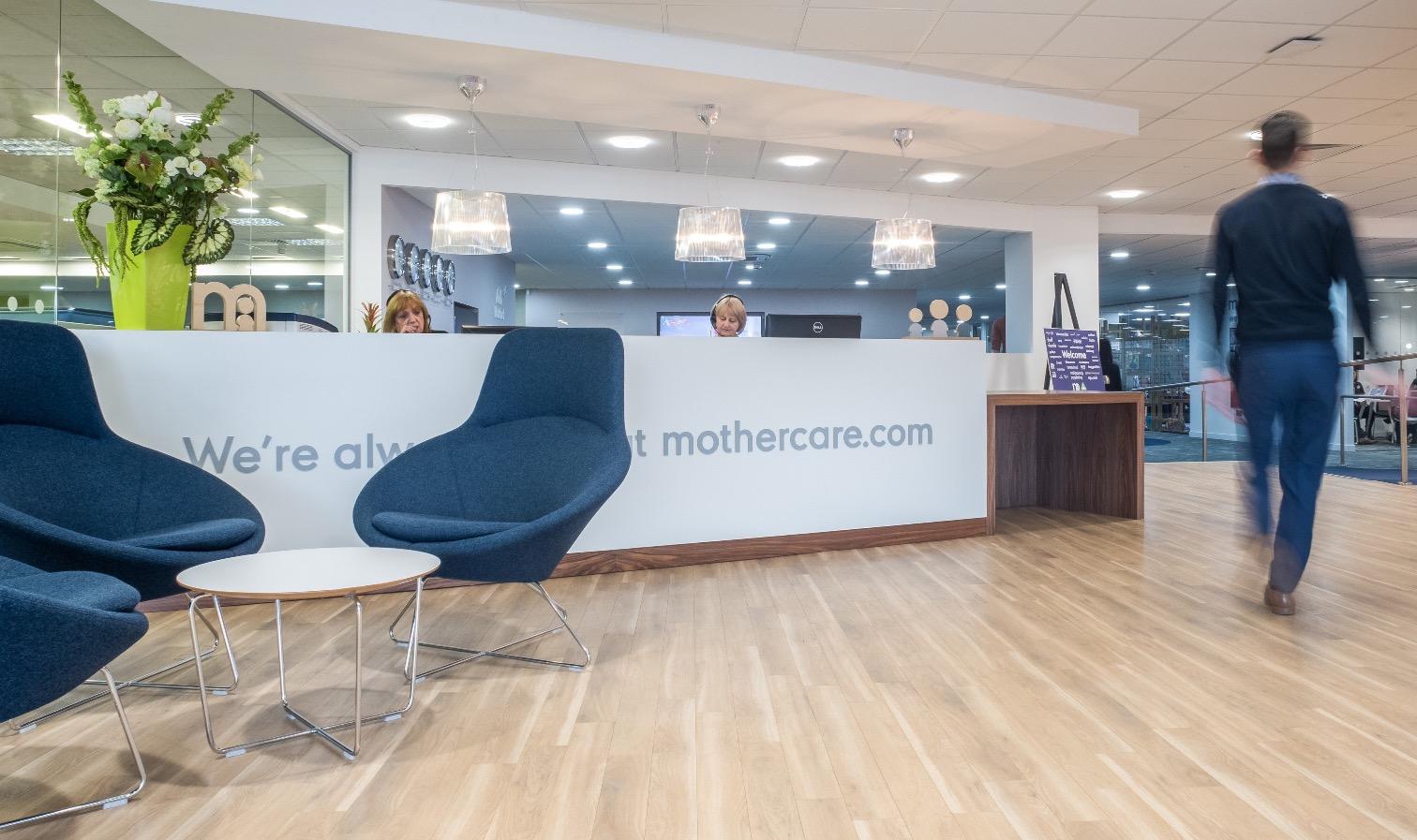 Inside mothercare s new watford office officelovin 39 for Office design principles