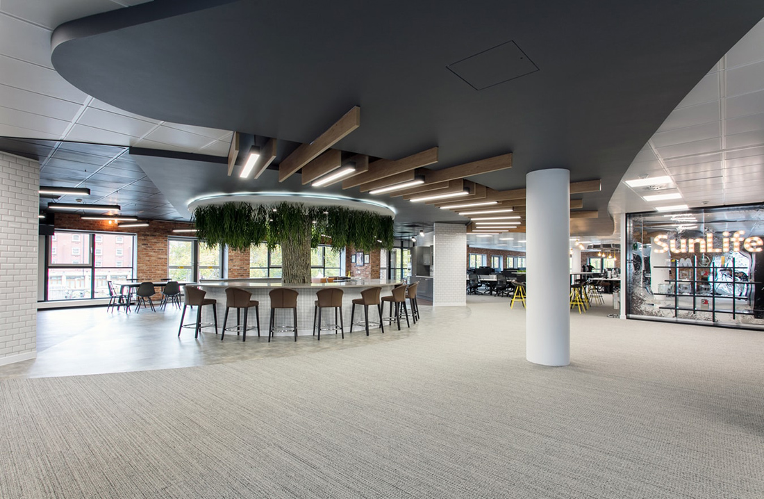 A Peek Inside SunLife's Cool New Bristol Headquarters