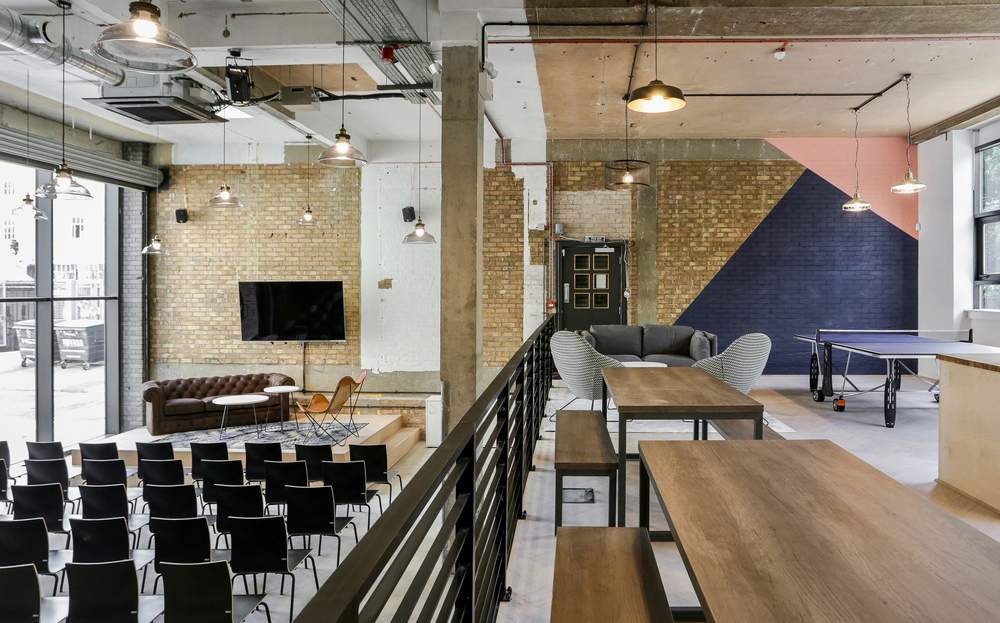 A Tour of Techspace's Cool New London Coworking Campus