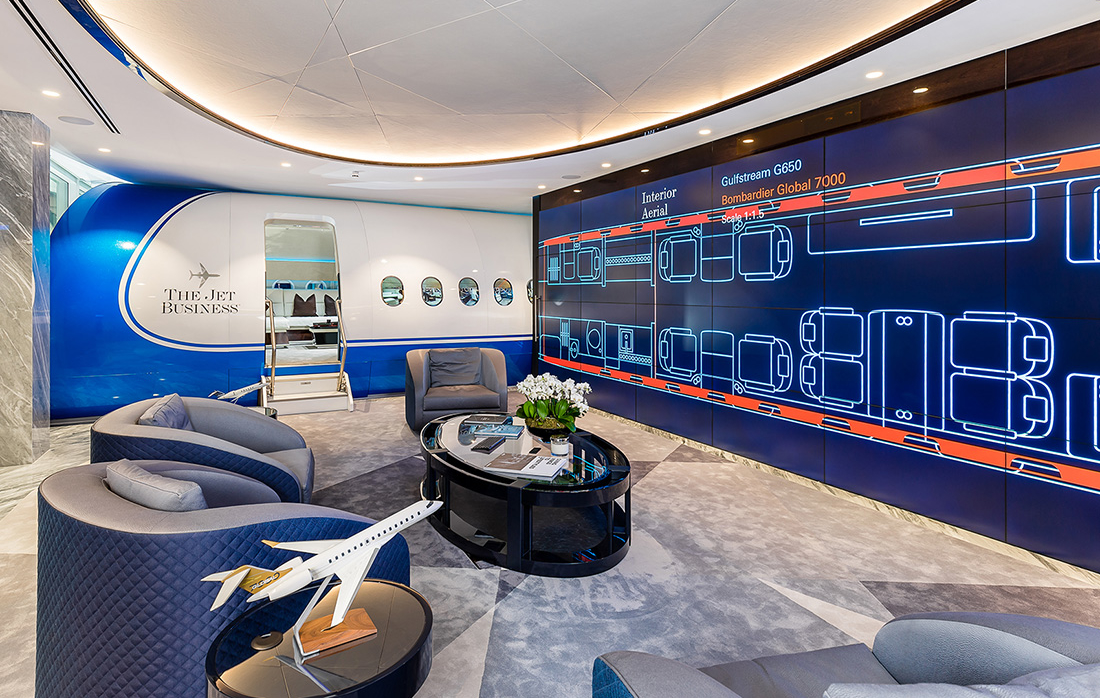 Inside The Jet Business' New London Office
