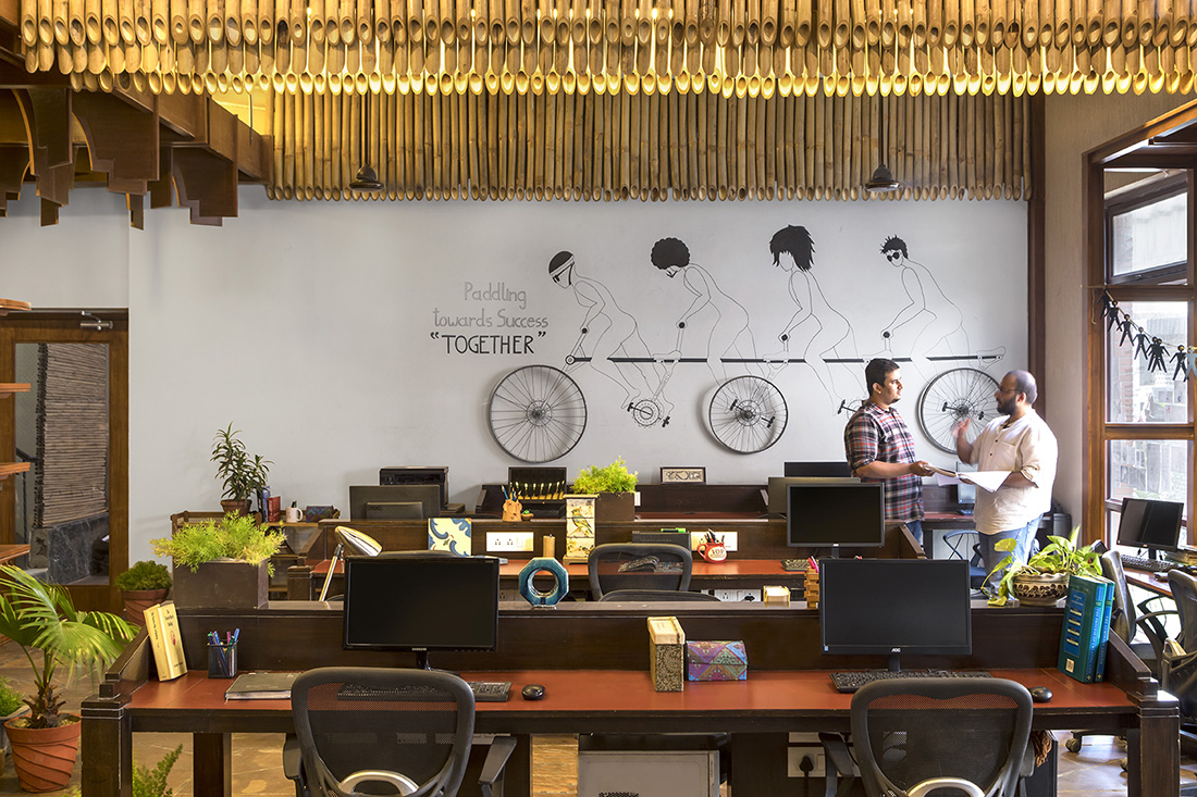 A Tour of UnBoxed's Cool Coworking Space in India