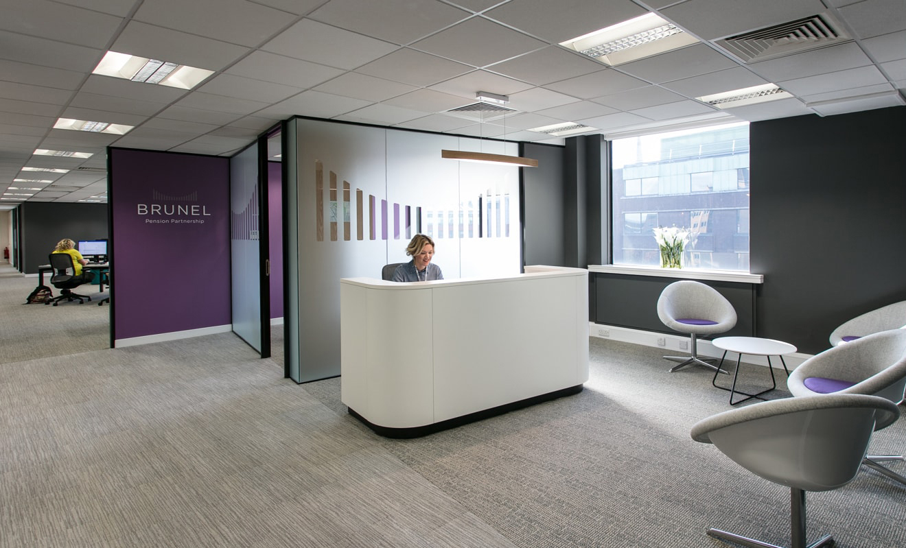 Inside brunel pension partnership s new bristol office for Office design bristol