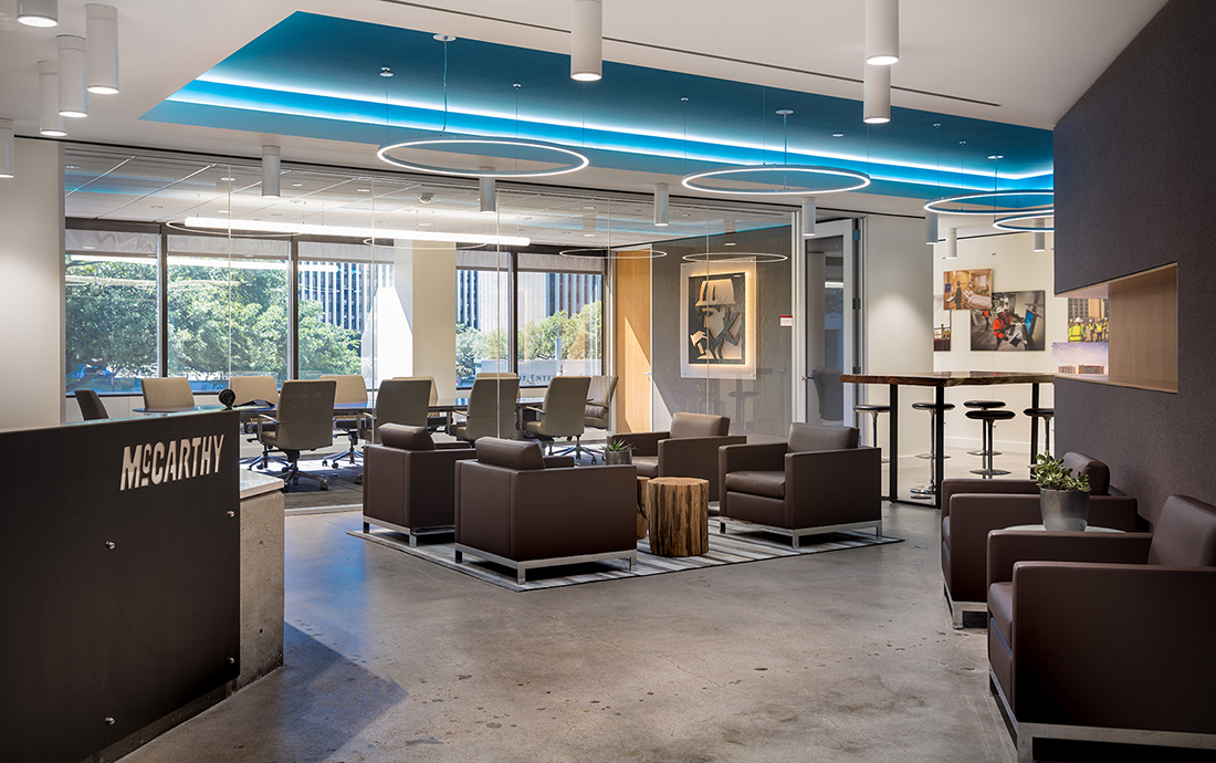 Inside McCarthy Building Companies' New Houston Office