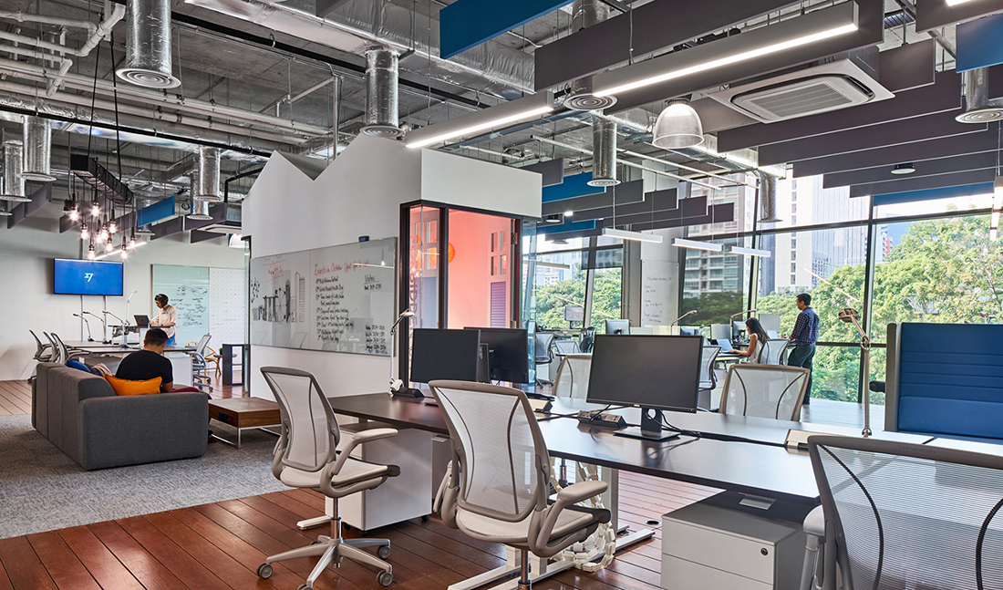 Inside TransferWise's Cool Singapore Office