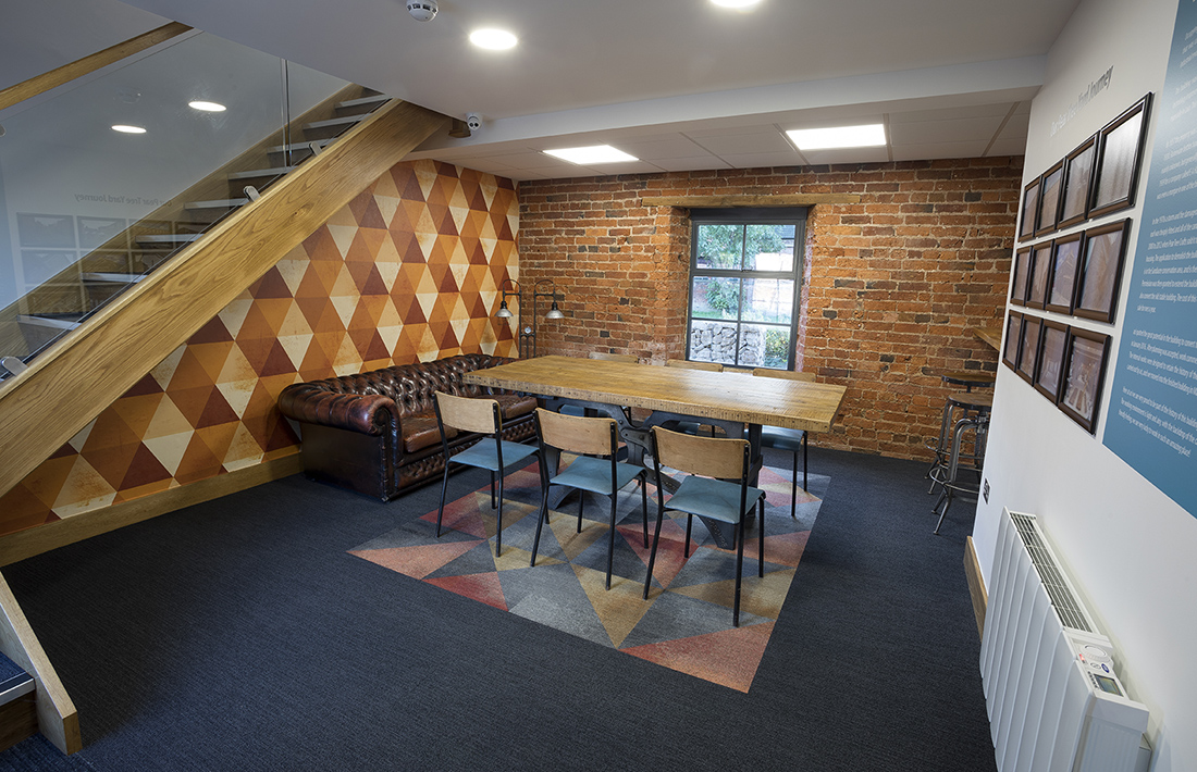 inside advanced commercial interiors nottingham office