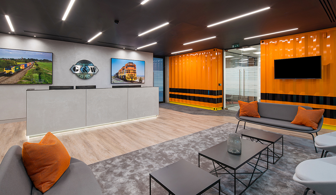 A Peek Inside Freightliner's New London Office