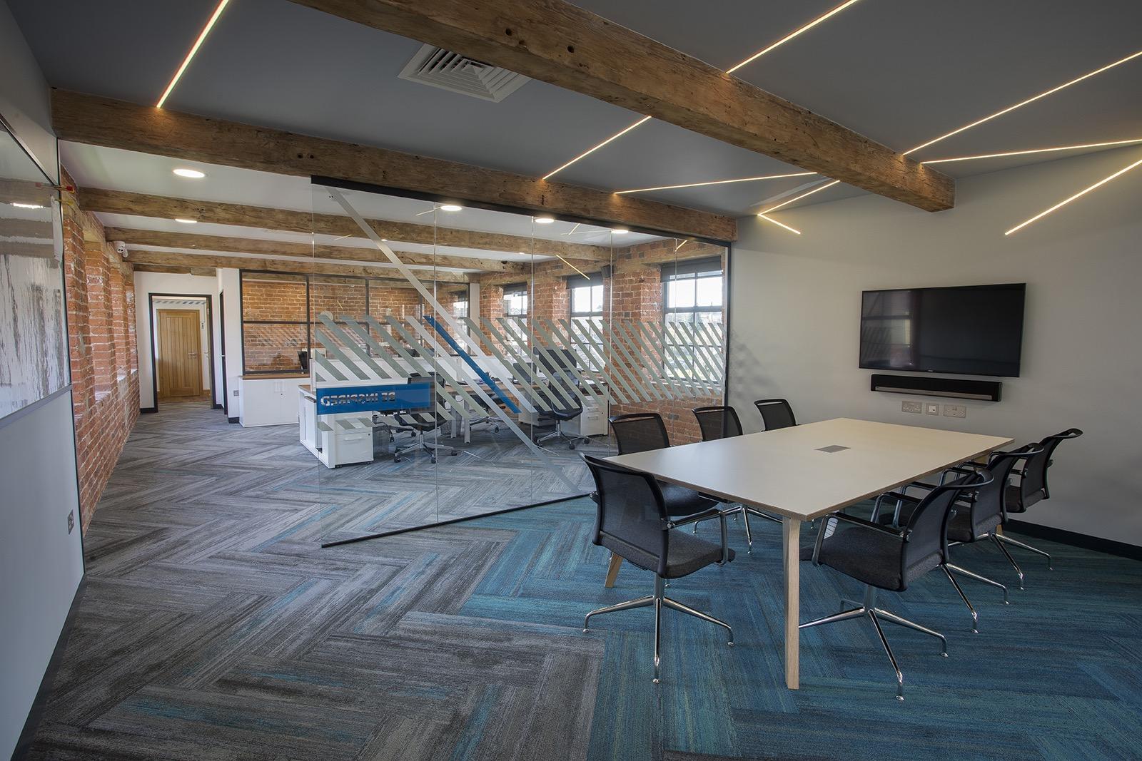 inside advanced commercial interiors nottingham office officelovin