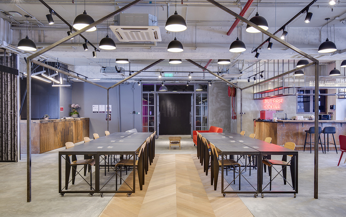 A Tour of Campfire's Hong Kong Coworking Space