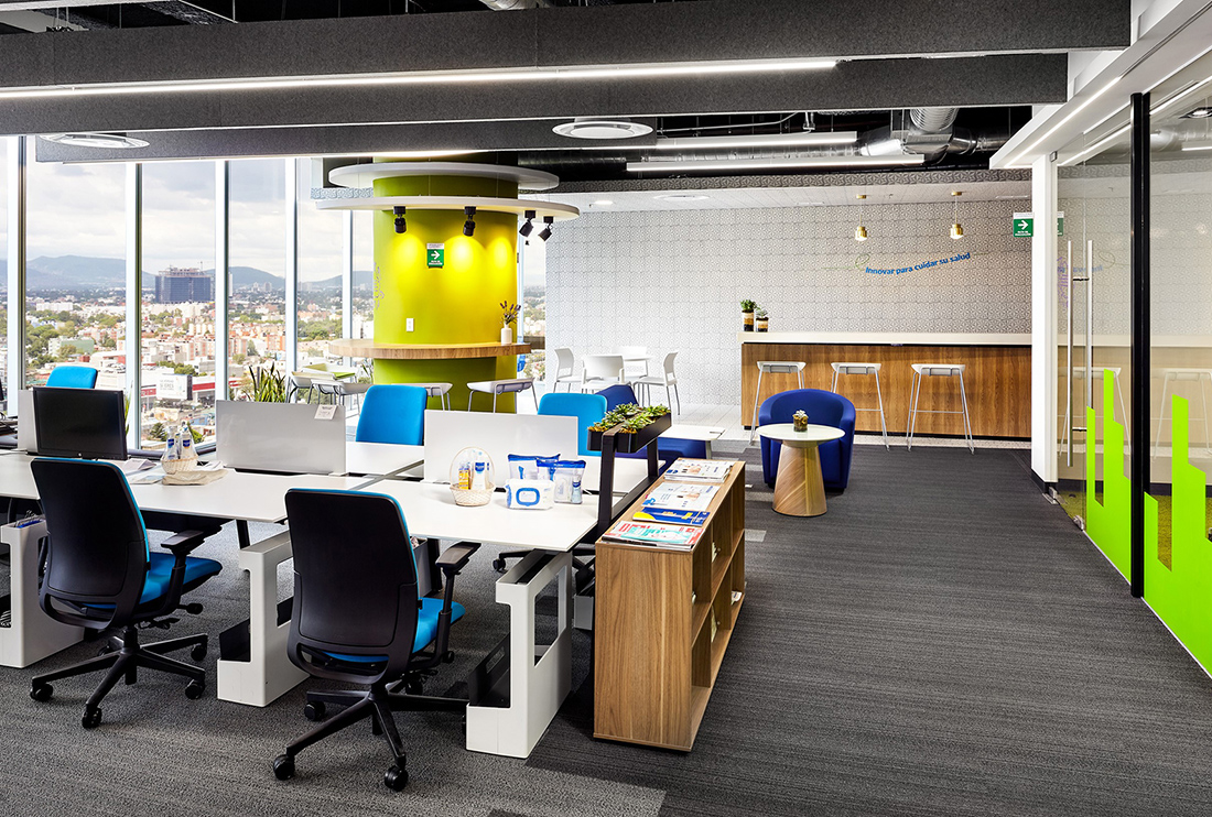 A Look Inside Expanscience's Mexico City Office
