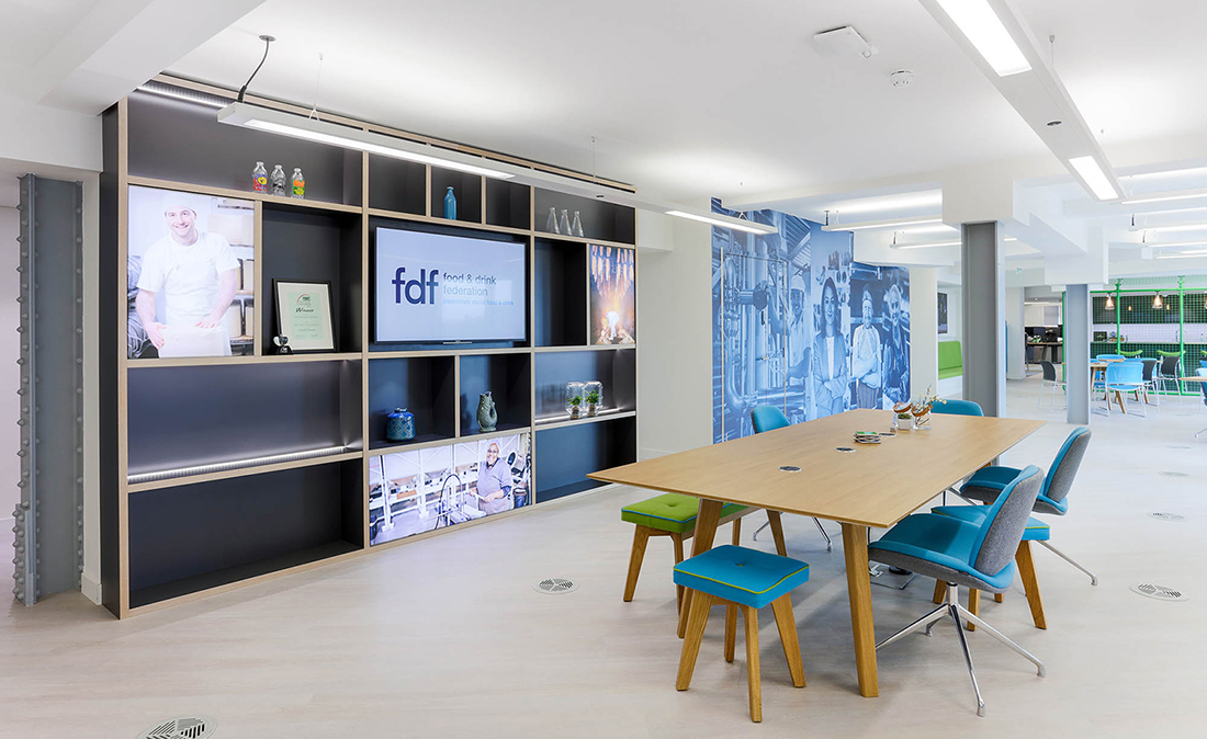 Inside Food and Drink Federation's Cool London Office
