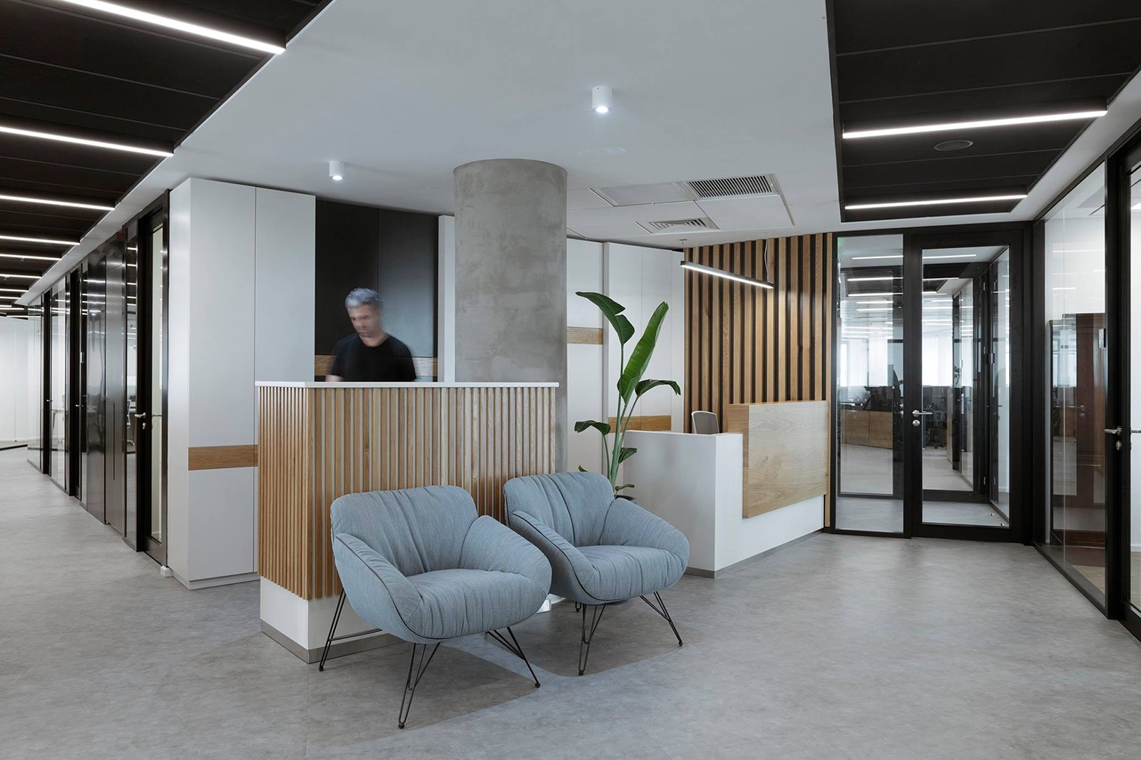 Inside KESH Insurance's Minimalist Tel Aviv Office