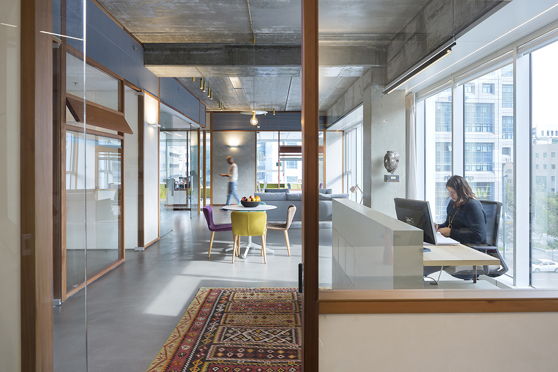 A Tour of Lautman Fund's New Tel Aviv Office