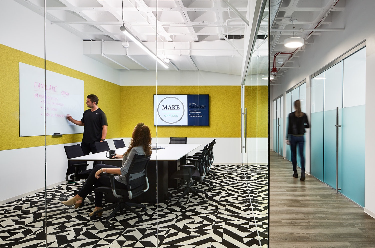 a tour of make offices chicago officelovin