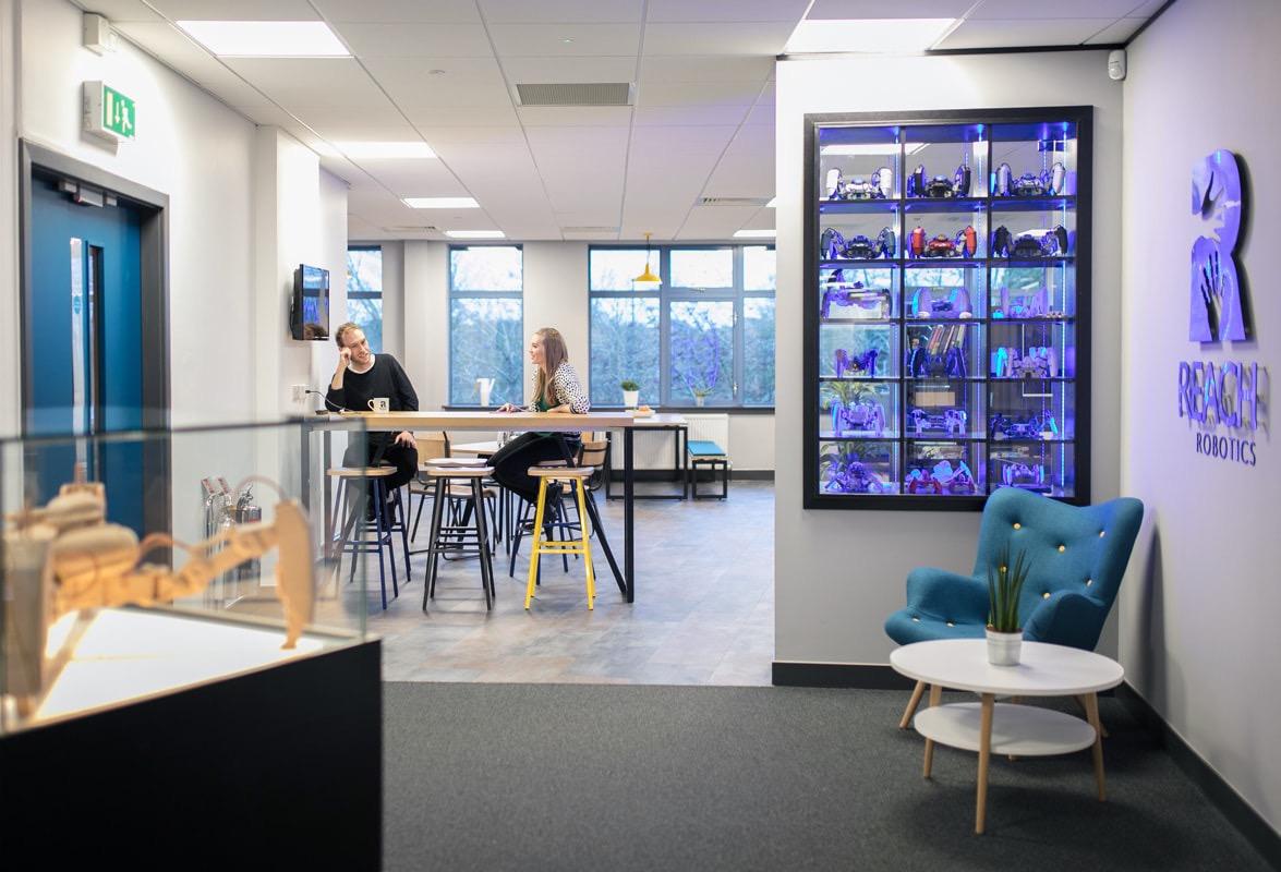 Inside reach robotics new bristol office officelovin 39 for Office design bristol