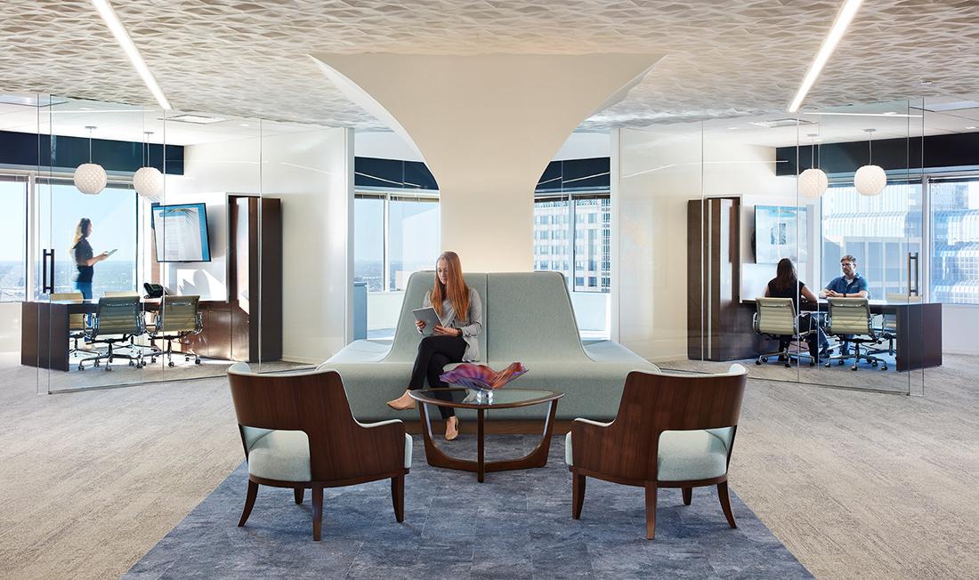 Inside Slayton Search Partners' Sleek Chicago Office