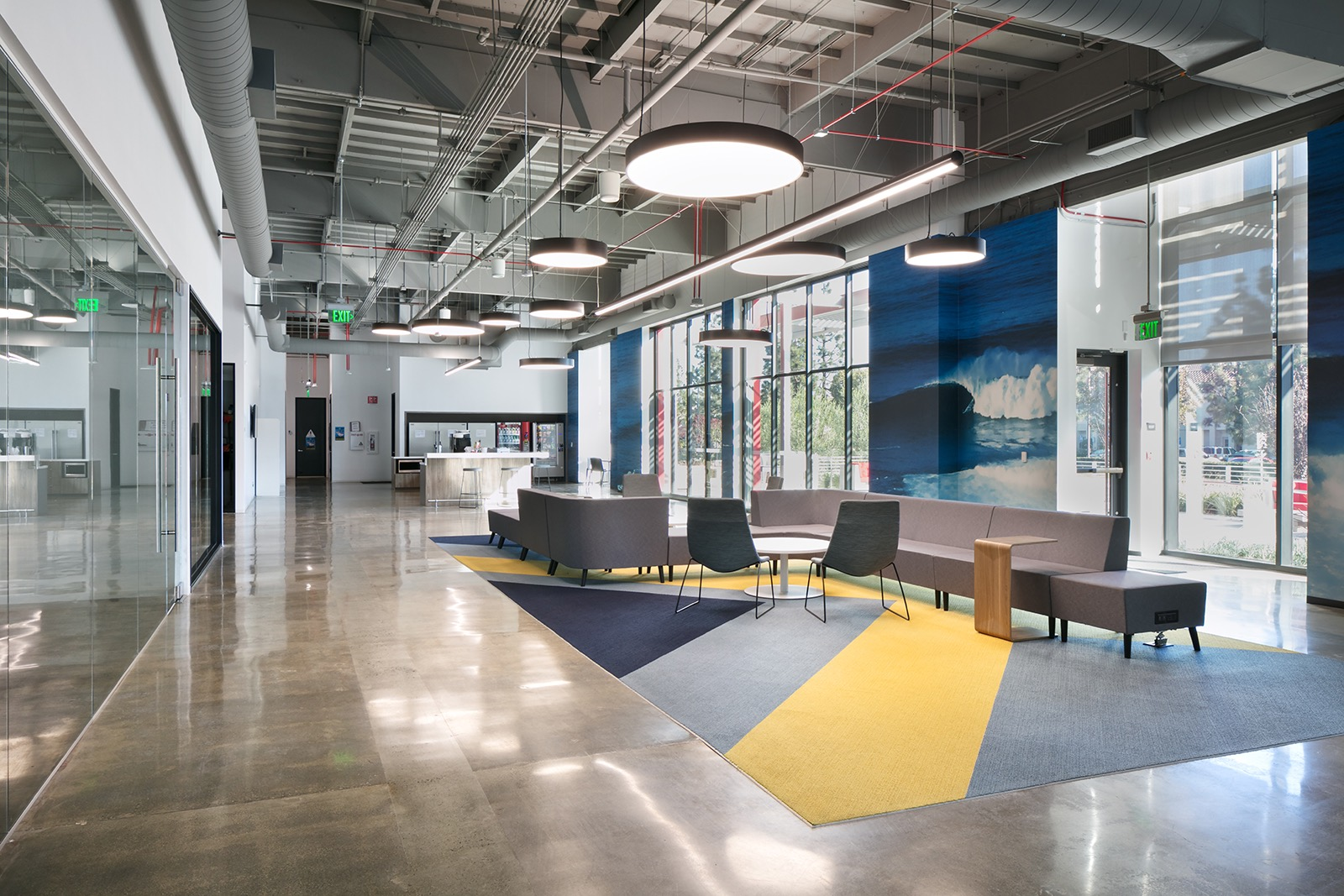A peek inside ten s new el segundo office officelovin 39 Kitchen design center el segundo