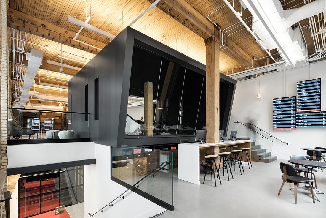 A Tour of Flight Centre's Super Cool Toronto Office