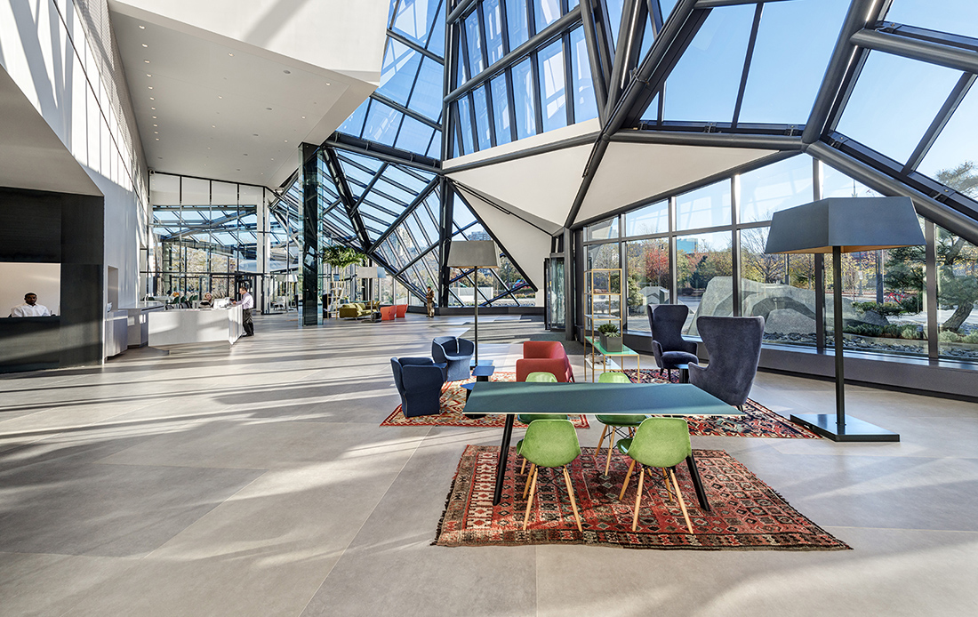 A Tour of EF Education First's Modern Cambridge Headquarters