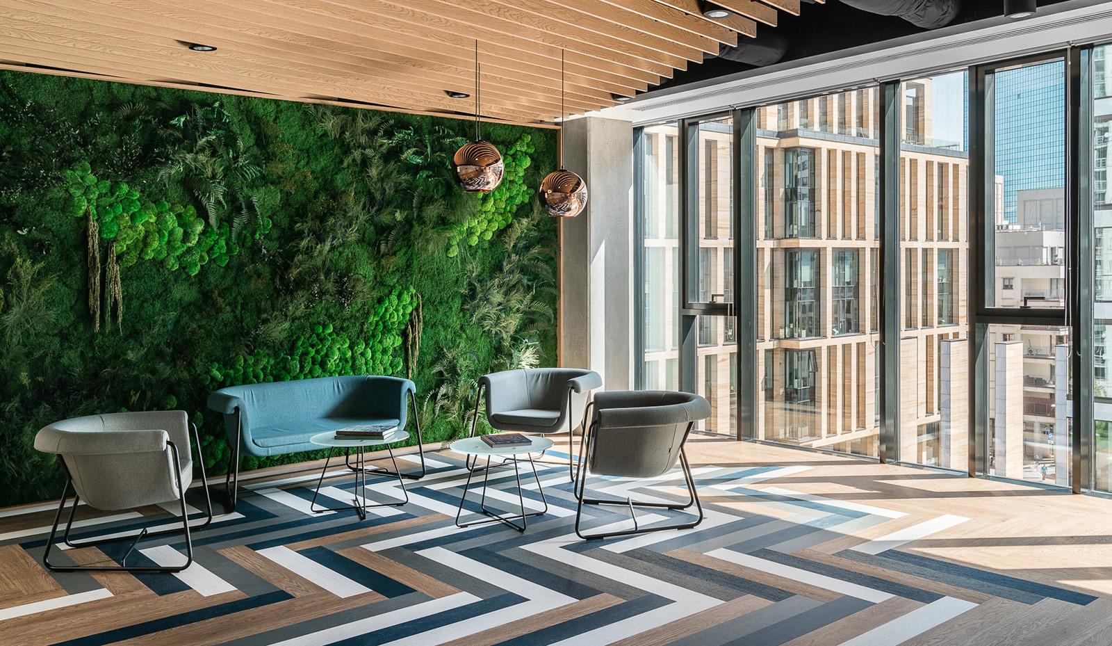 An Inside Look at Euronet's Sleek Warsaw Office