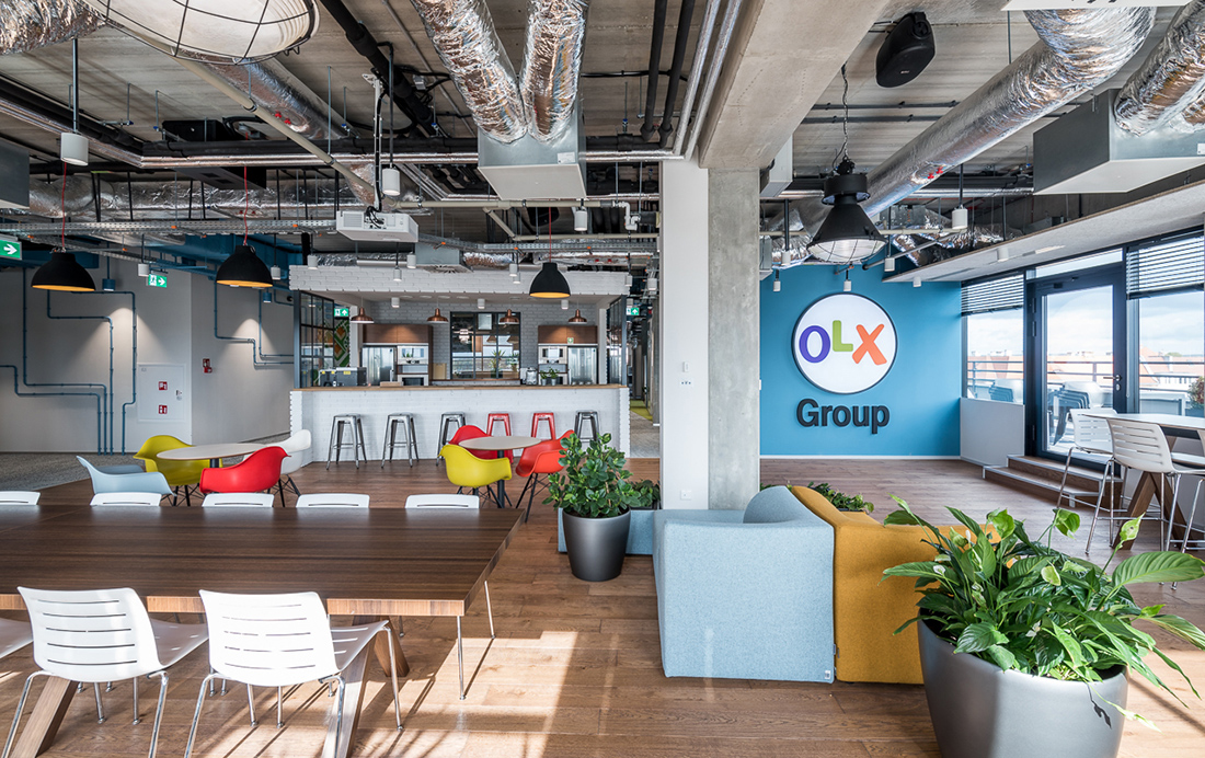 A Look Inside OLX Group's Cool New Poznan Headquarters