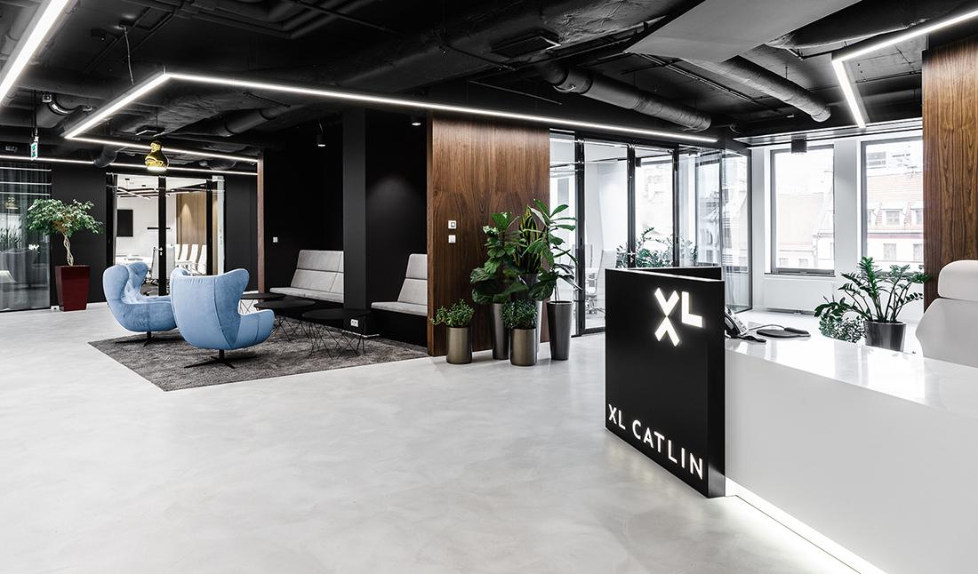 Inside XL Catlin's Modern Wroclaw Office