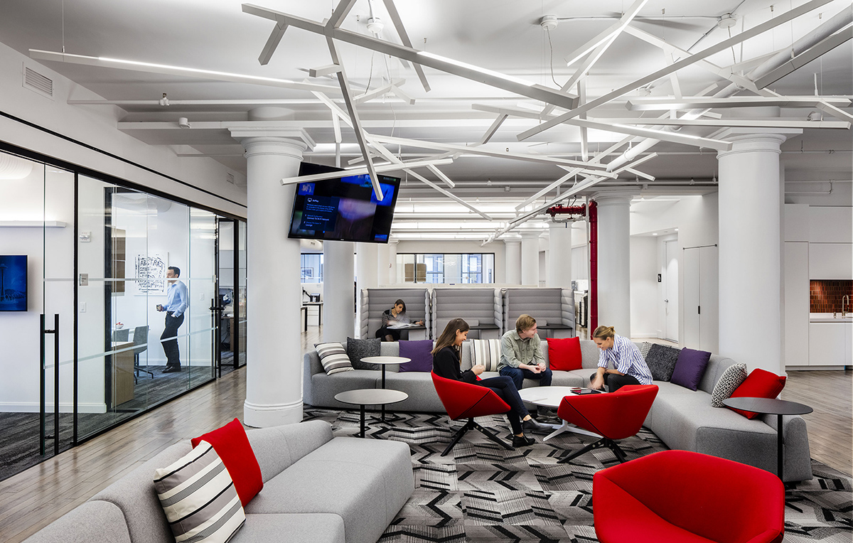 A Look Inside The Corcoran Group's NYC Office