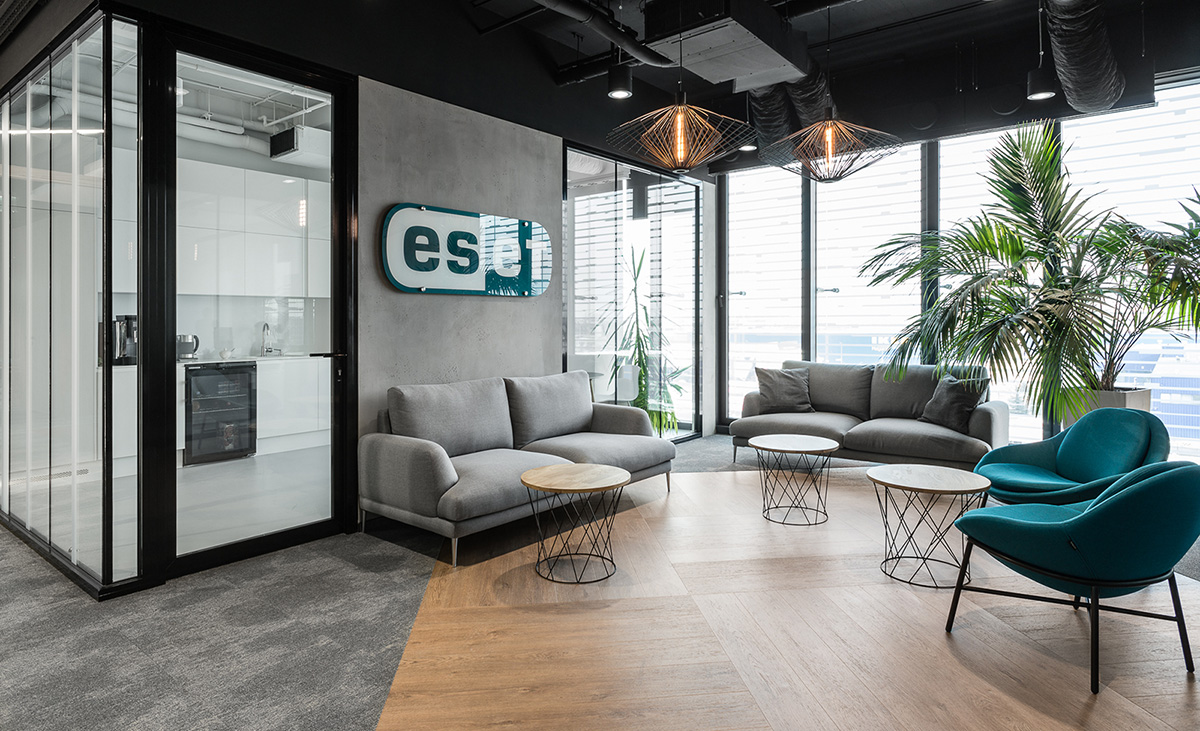 Inside ESET's Elegant New Krakow Office