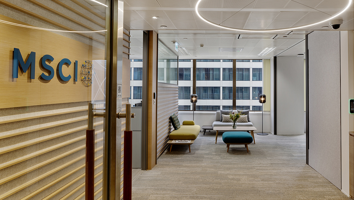 A Tour of MSCI's New Hong Kong Office